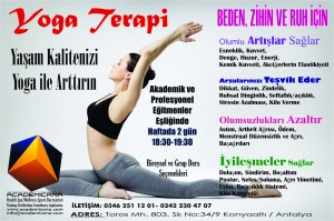 Yoga ve Pilates Terapi